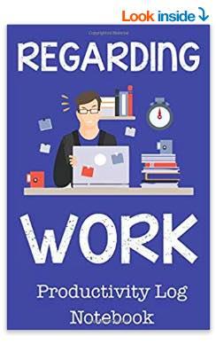 productivity log notebook